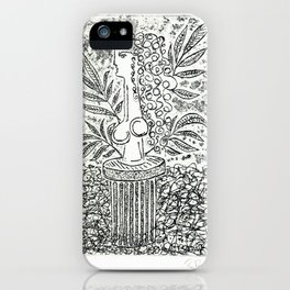 Sculpture in Garden iPhone Case