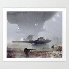 air support Art Print