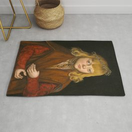 "Lucas Cranach the Elder """"A Prince of Saxony"" Rug"