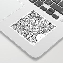 Contraptions 1 Sticker