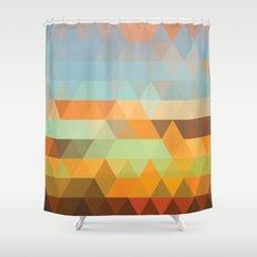 Simple Sky - Sunset Shower Curtain