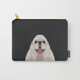 Harper - Cocker Spaniel phone case gifts for dog people dog lovers presents Carry-All Pouch