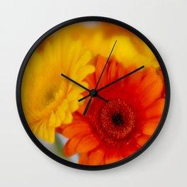 Soft Gerber Bunch Wall Clock