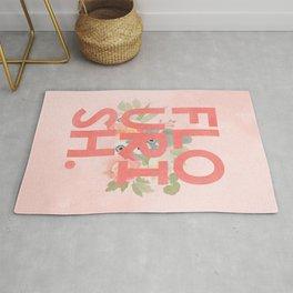 Flourish# art print #society6 Rug