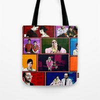 comics Tote Bags featuring Comics by AntWoman
