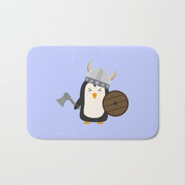 Penguin Viking   Bath Mat