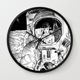 asc 333 - La rencontre rapprochée ( The close encounter) Wall Clock