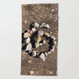 Stone Circle Beach Towel