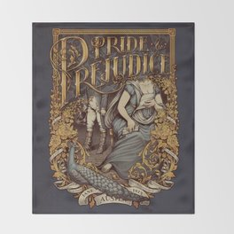 Pride and Prejudice Throw Blanket
