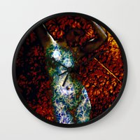 into the wild Wall Clocks featuring Wild by Stephen Linhart