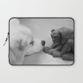 The Dog and The Gargoyle Laptop Sleeve