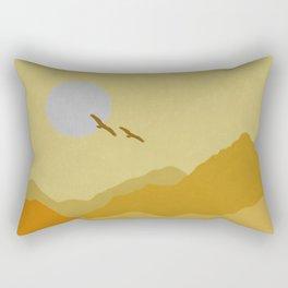 Shades of Desert Rectangular Pillow