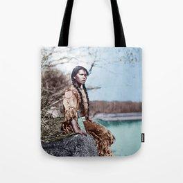 Native Girl Tote Bag