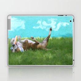 Maverick - a shelter dog Laptop & iPad Skin