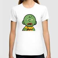 charlie brown T-shirts featuring Zombie Charlie Brown by rkbr