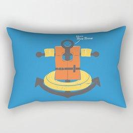 I Refuse To Sink Rectangular Pillow