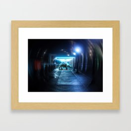 Urban Rhino Framed Art Print