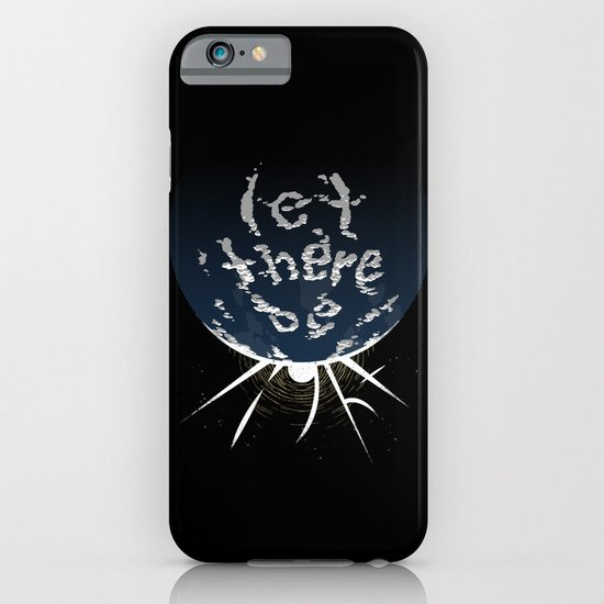 Let There Be Light iPhone & iPod Case