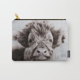 HIGHLAND CATTLE CALF ALF Carry-All Pouch