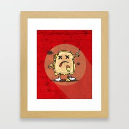 Grilled Cheese Showdown art Framed Art Print