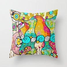 Licious Throw Pillow