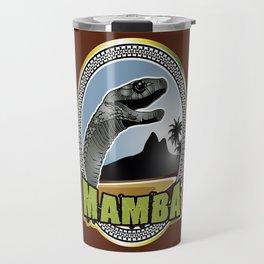 Black Mamba emblem Travel Mug