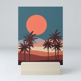 Abstract Landscape 13 Portrait Mini Art Print
