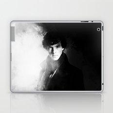 AMAZING SHERLOCK - BLACK & WHITE Laptop & iPad Skin