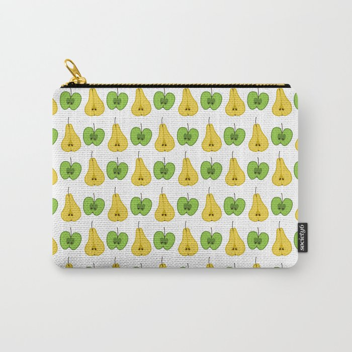 Apple and pear pattern Carry-All Pouch
