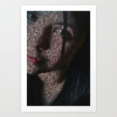 Regard Art Print