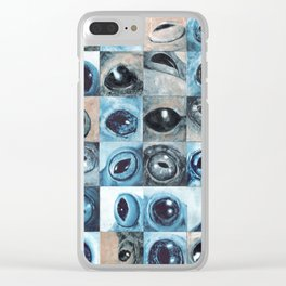 Changing eyes II Clear iPhone Case