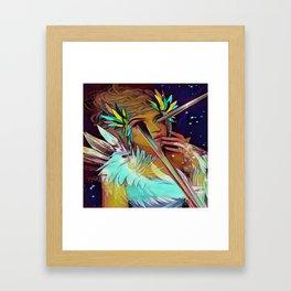 Alisson Framed Art Print