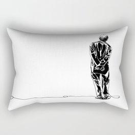 Liam Gallagher Oasis Rectangular Pillow
