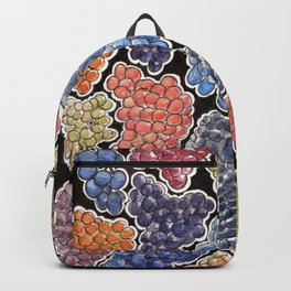 Grapes for wine lovers, gastronomy and restaurants Backpack