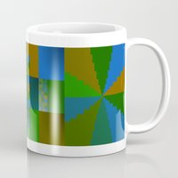 native Mugs featuring Native by DARWIN STEAD