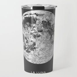 La Luna Moon Print Travel Mug