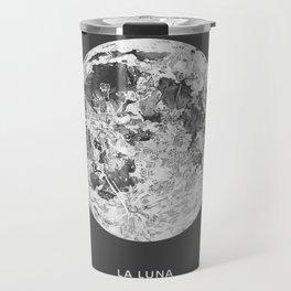 La Luna Moon Print Travel Mug