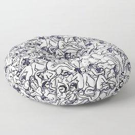 Hedonistic Astrophoria (Darkest) Floor Pillow