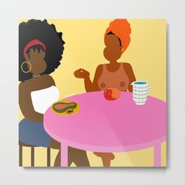 Breakfast For Two Metal Print