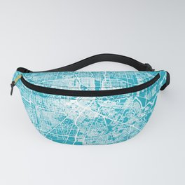 HOUSTON Map Texas   Aqua   More Colors, Review My Collections Fanny Pack