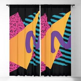 Memphis Pattern 29 / 80s - 90s Retro Blackout Curtain