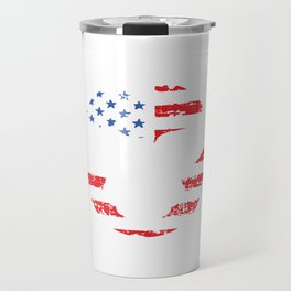 America Independence Day Free 4th Of July Freedom United USA Gift Travel Mug