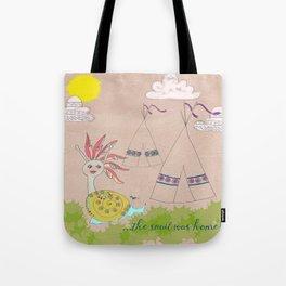 Indian Snail Tote Bag