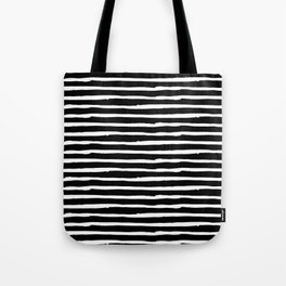 Hand Drawn Stripes Tote Bag