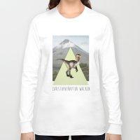 christopher walken Long Sleeve T-shirts featuring Christopher Walken by Kalynn Burke