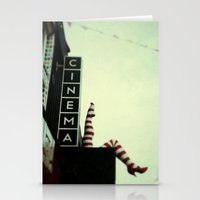 cinema Stationery Cards featuring Cinema by Cassia Beck