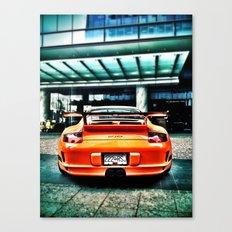 Muy Naranja Canvas Print