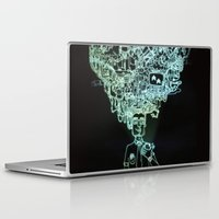 geek Laptop & iPad Skins featuring GEEK by taniavisual