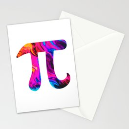 Eternal Abstract Pi Stationery Cards