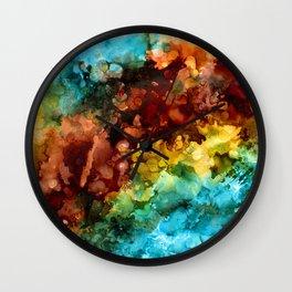 Ocean Explosion Wall Clock